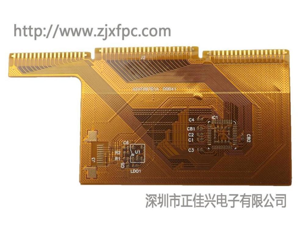 电容屏FPC FPC模组 柔性线路板-正佳兴电子